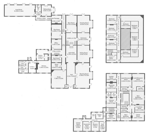 Mourne Park House floorplans lvbmag.com
