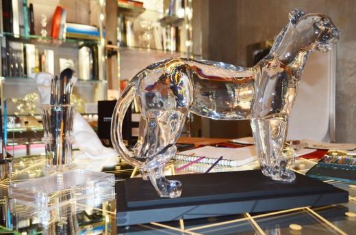 Cristal Room Baccarat Jaguar © Stuart Blakley lvbmag.com