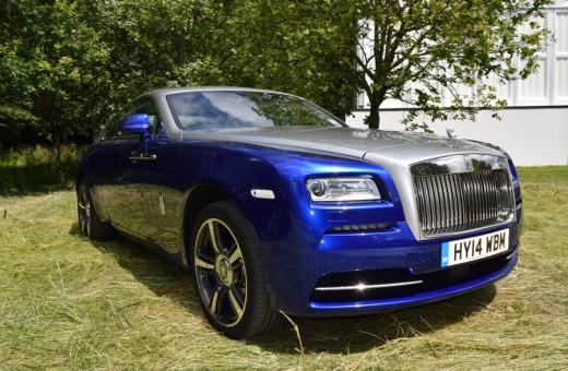 Goodwood 2014 Rolls Royce © Stuart Blakley Lavender's Blue