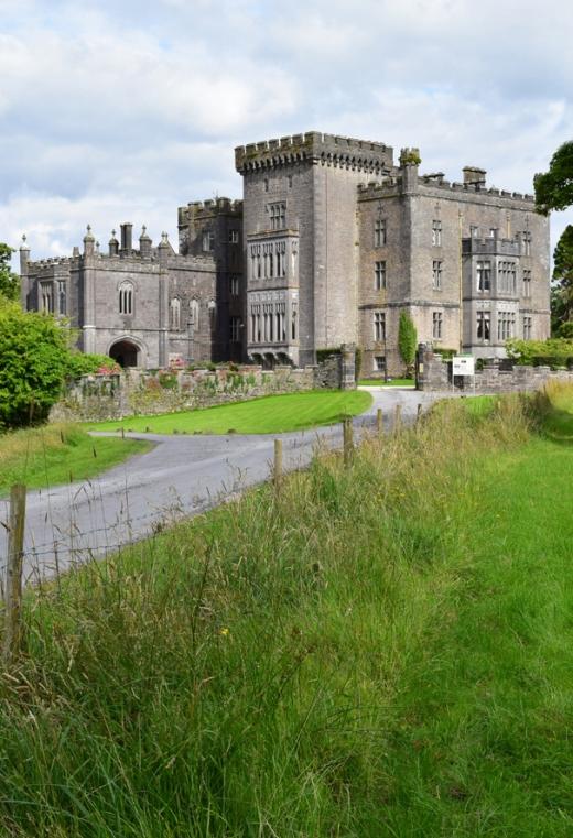 Markree Castle Driveway © Lavender's Blue Stuart Blakley