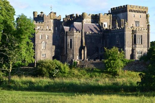 Markree Castle Entrance Front © Lavender's Blue Stuart Blakley