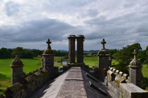 Markree Castle Roofscape © Lavender's Blue Stuart Blakley