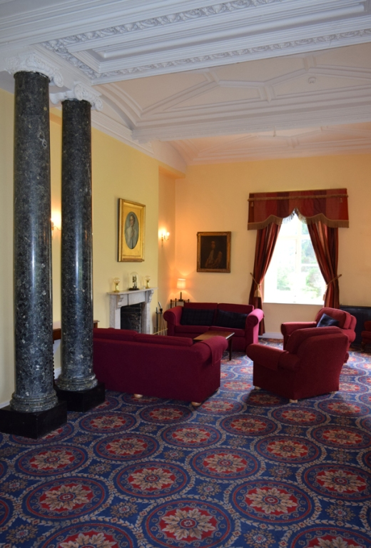 Markree Castle Sitting Room © Lavender's Blue Stuart Blakley