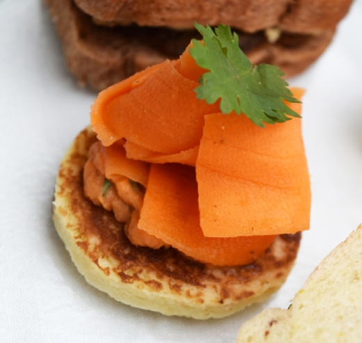Royal Opera House Covent Garden Afternoon Tea Carrot Sandwich © Lavender's Blue Stuart Blakley