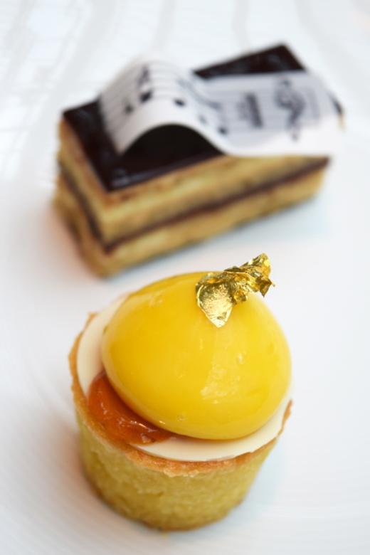 Royal Opera House Covent Garden Pastry by Claire Clarke © Lavender's Blue Stuart Blakley