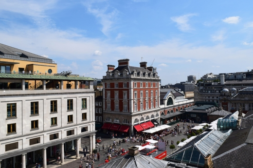 View from Royal Opera House Covent Garden © Lavender's Blue Stuart Blakley
