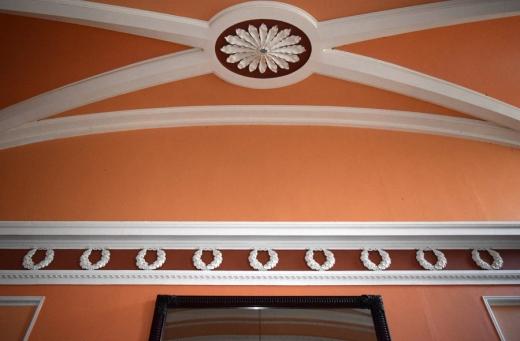 Borris House Plasterwork © Lavender's Blue Stuart Blakley