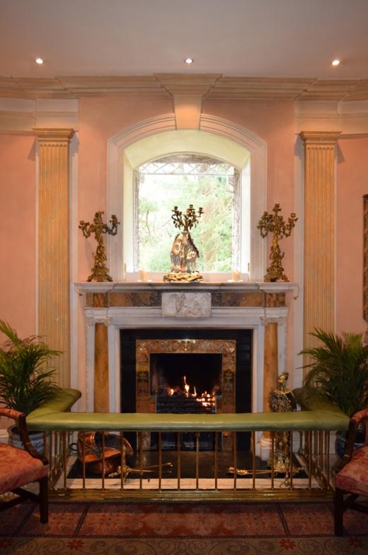 Marlfield House Hall © Lavender's Blue Stuart Blakley
