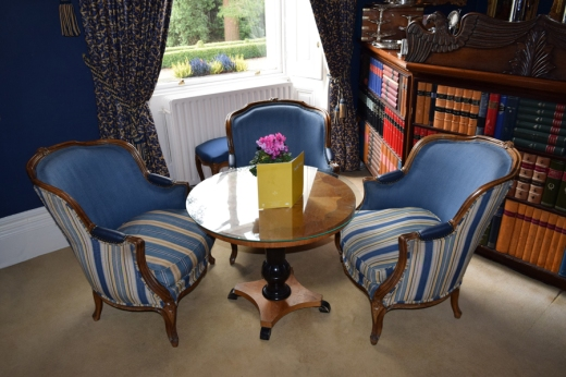 Marlfield House Library © Lavender's Blue Stuart Blakley