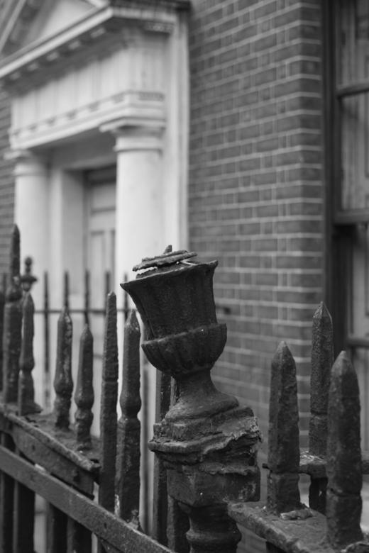 Henrietta Street Railings Dublin © Lavender's Blue Stuart Blakley