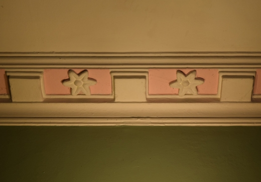 Castle Grove Entrance Hall Cornice © Lavender's Blue Stuart Blakley