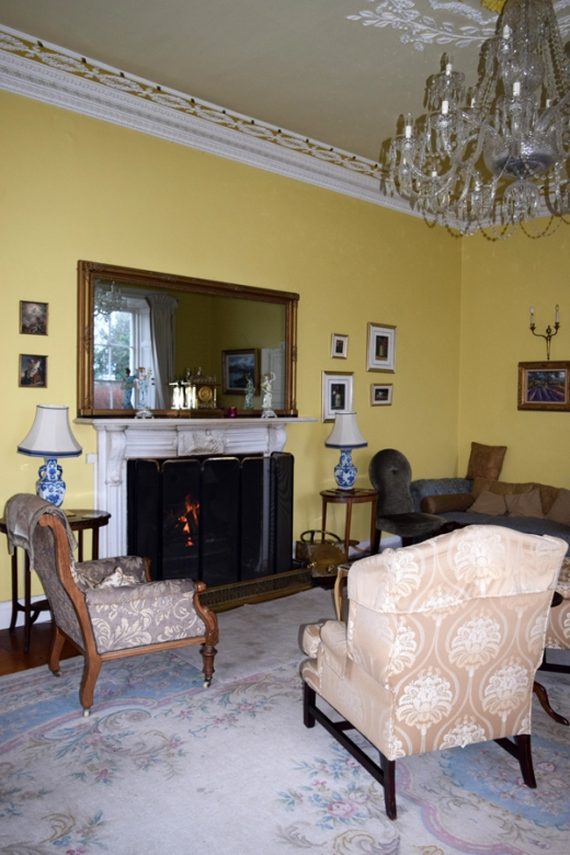 Castle Grove Yellow Drawing Room © Lavender's Blue Stuart Blakley