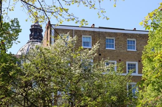 Min Hogg The World of Interiors Founder Home Brompton Square London © Lavender's Blue Stuart Blakley