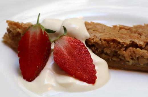 Spring Restaurant Somerset House Pudding © Lavender's Blue Stuart Blakley