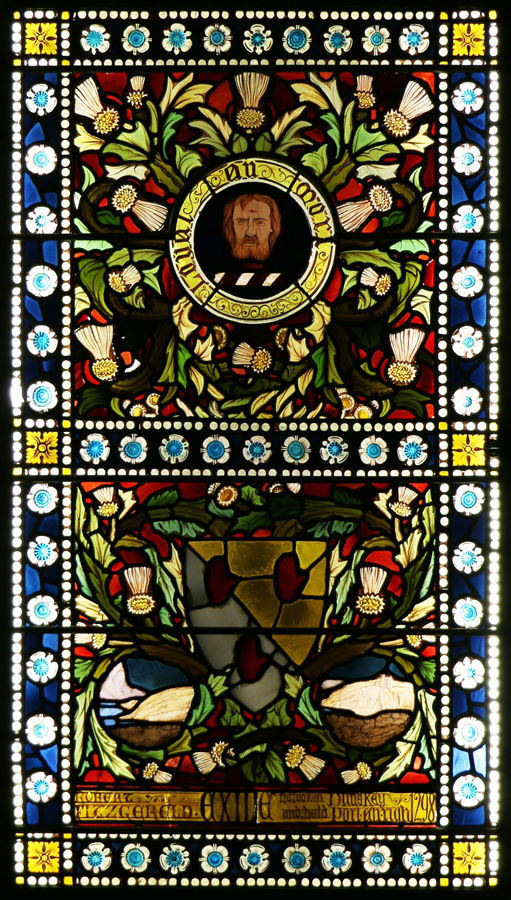 Holly Hill House Ballymena Castle Stained Glass Window © Lavender's Blue Stuart Blakley