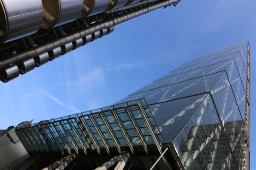 Cheesegrater Leadenhall Building Front © Lavender's Blue Stuart Blakley