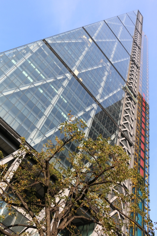 Cheesegrater Leadenhall Building Side © Lavender's Blue Stuart Blakley