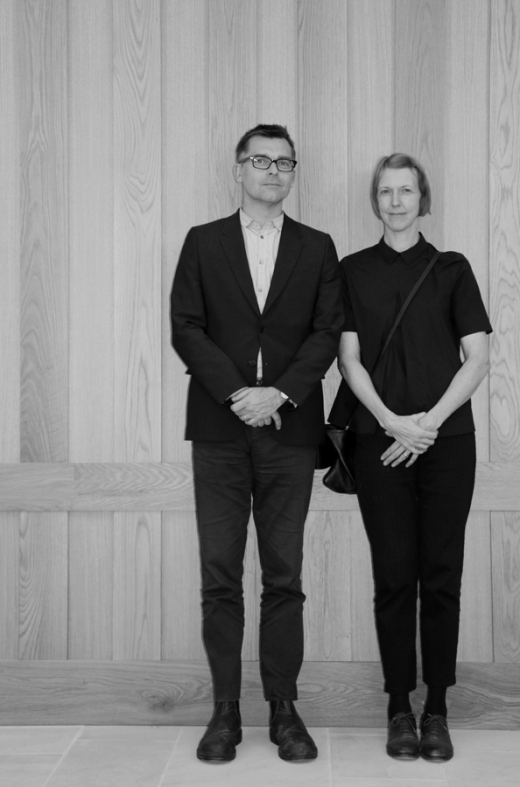 Architects Alun Jones + Biba Dow © Lavender's Blue Stuart Blakley