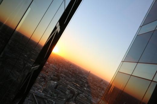 Cheesegrater Leadenhall Building Sunset © Lavender's Blue Stuart Blakley