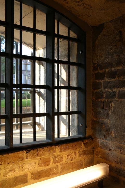 Christ Church Spitalfields Crypt Window © Lavender's Blue Stuart Blakley