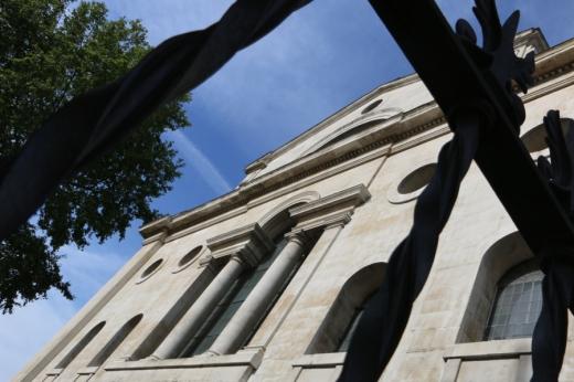 Christ Church Spitalfields Serlian Window © Lavender's Blue Stuart Blakley
