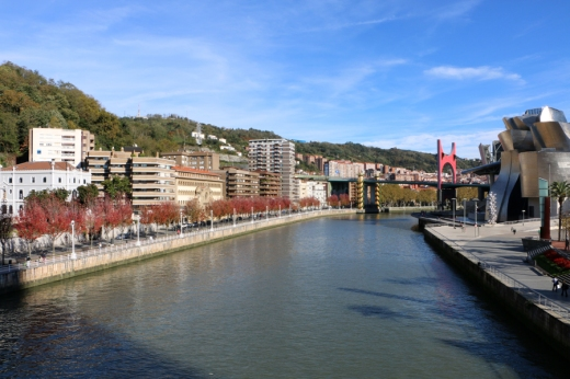 River Nervión Bilbao © Lavender's Blue Stuart Blakley