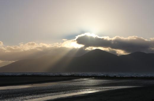 Tyrella Beach Mournes © Lavender's Blue Stuart Blakley