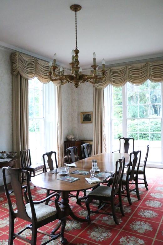 Tyrella House Dining Room © Lavender's Blue Stuart Blakley