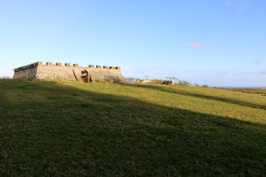 Tyrella House Sham Fort © Lavender's Blue Stuart Blakley