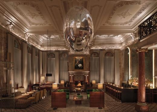 The London Edition Hotel Lobby © Lavender's Blue Stuart Blakley
