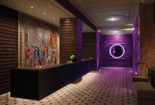 The London Edition Hotel Reception © Lavender's Blue Stuart Blakley