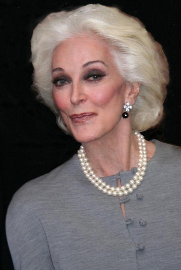 Carmen Dell Orefice Claridge S Hotel London Lavender S