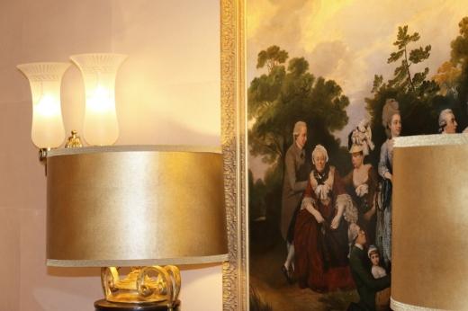 The Lanesborough Hotel London Lampshades © Lavender's Blue Stuart Blakley