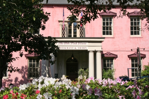 The Olde Pink House Savannah and Planters Tavern © Lavender's Blue Stuart Blakley