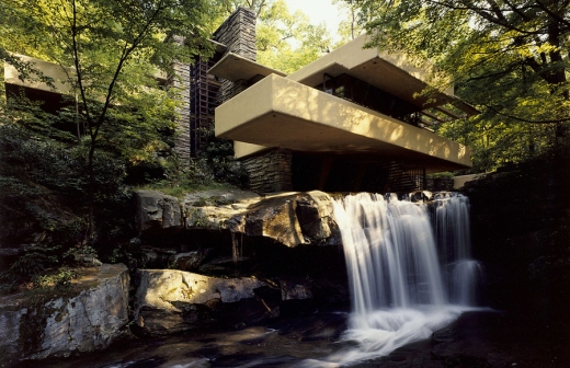 Fallingwater Courtesy of Western Pennsylvania Conservancy