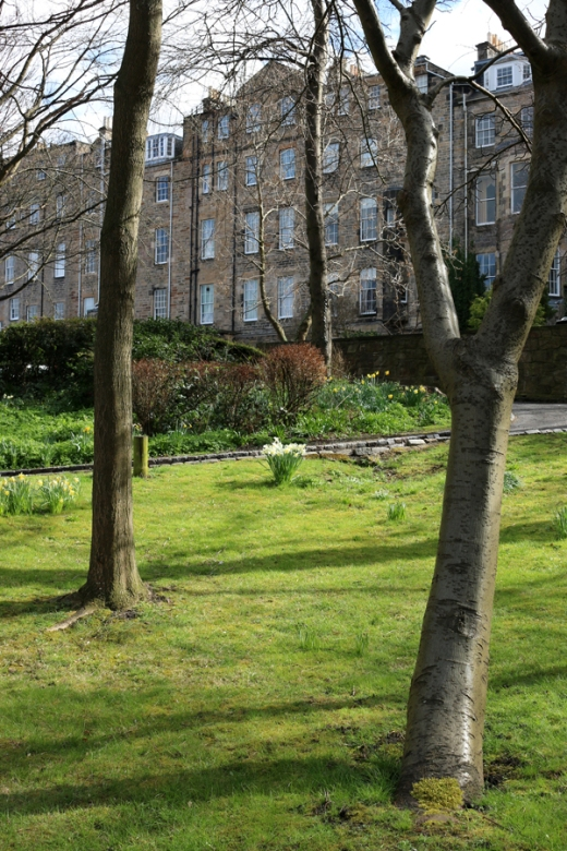 First Minister Nicola Sturgeon's Gardens Charlotte Square © Lavender's Blue Stuart Blakley