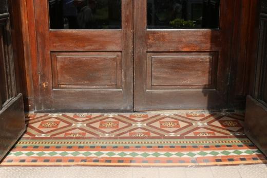 Bel-Air Hotel Ashford Encaustic Tiles © Lavender's Blue Stuart Blakley