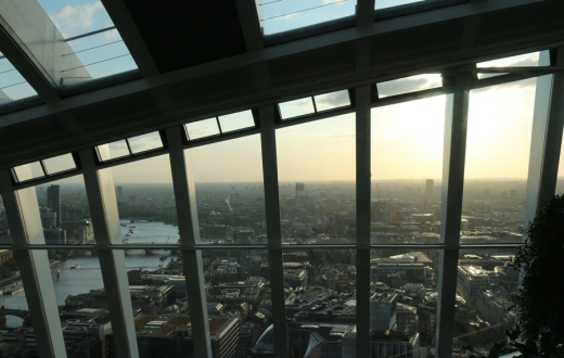 Fenchurch Restaurant View © Lavender's Blue Stuart Blakley