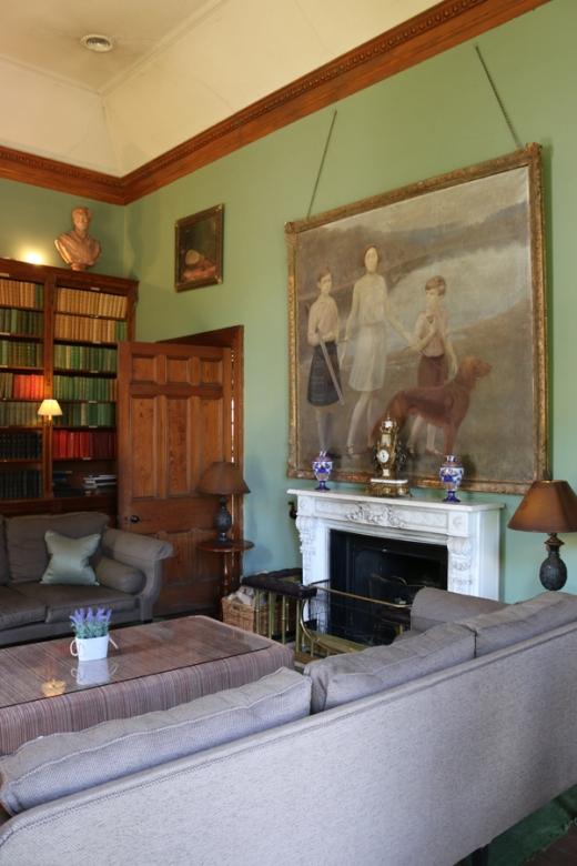 Castle Leslie Library © Lavender's Blue Stuart Blakley