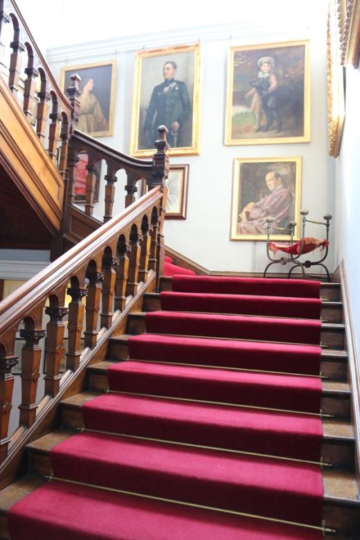 Castle Leslie Staircase © Lavender's Blue Stuart Blakley