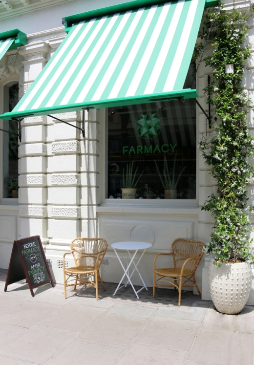 Farmacy Restaurant Notting Hill © Lavender's Blue Stuart Blakley