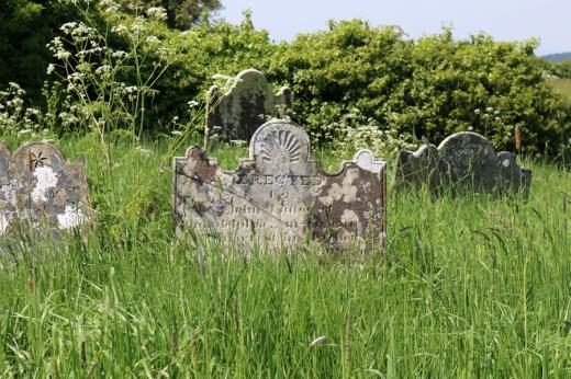 St Patrick's Church Saul Cemetery © Lavender's Blue Stuart Blakley