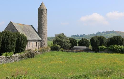 St Patrick's Church Saul Grounds © Lavender's Blue Stuart Blakley