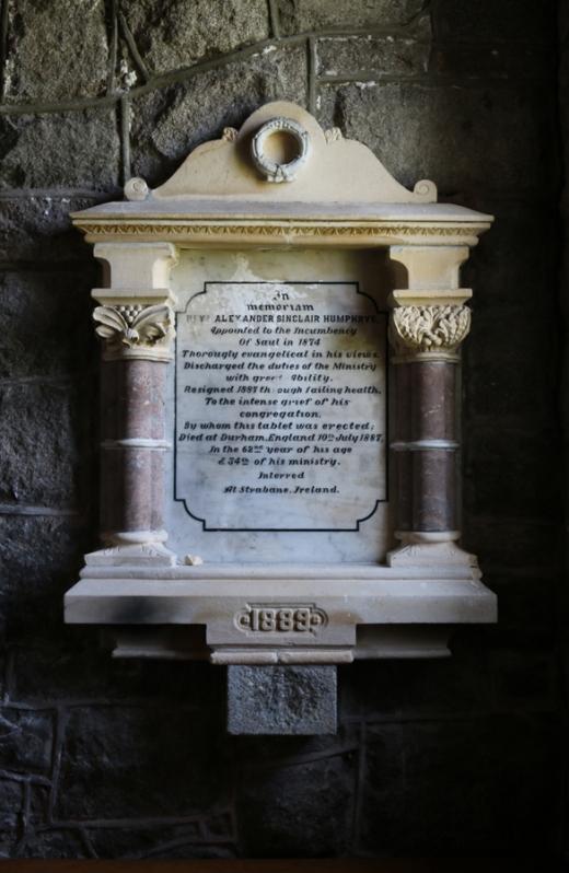 St Patrick's Church Saul Memorial © Lavender's Blue Stuart Blakley