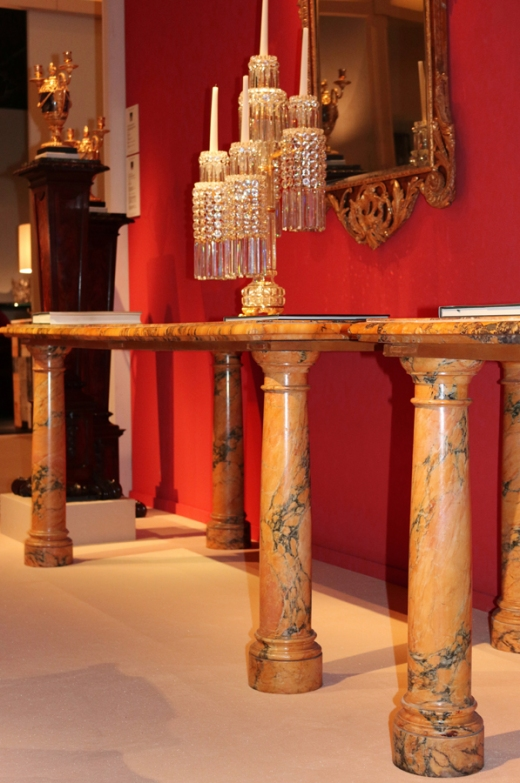 Bantry House Tables Ronald Phillips Masterpiece Fair 2016 © Lavender's Blue Stuart Blakley