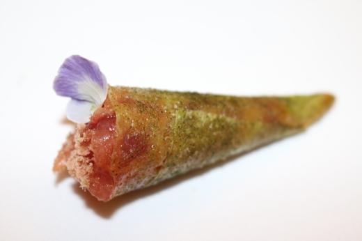 Belcanto Tuna Tartar Cone © Lavender's Blue Stuart Blakley