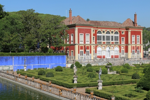 Fronteira Palace and Lake Lisbon © Lavender's Blue Stuart Blakley