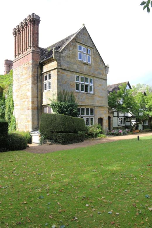 Ockenden Manor Entrance Front © Lavender's Blue Stuart Blakley