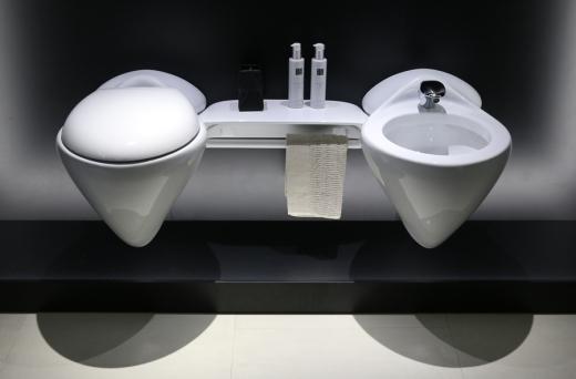 Porcelanosa Vitae Sanitaryware Zaha Hadid © Lavender's Blue Stuart Blakley