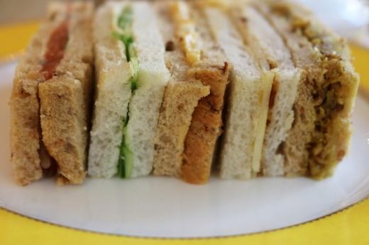The Goring Hotel Sandwiches © Lavender's Blue Stuart Blakley